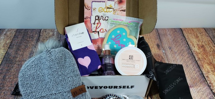 SinglesSwag Subscription Box Review & Coupon – February 2020