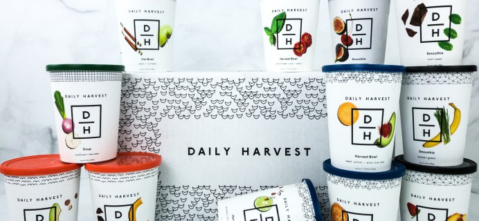 Daily Harvest Superfood Meals Review + Coupon