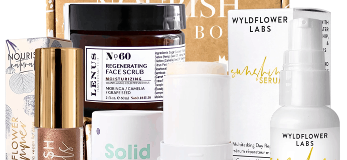 Nourish Beauty Box April 2020 Full Spoilers + Coupon!