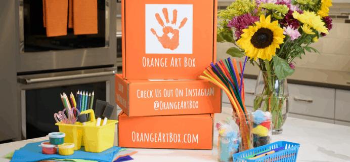 Orange Art Box Coupon: Get Up To 30% Off!