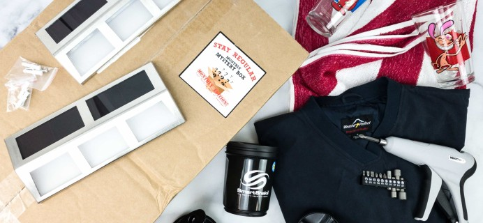 Stay Regular Monthly Mystery Box March 2020 Subscription Box Review