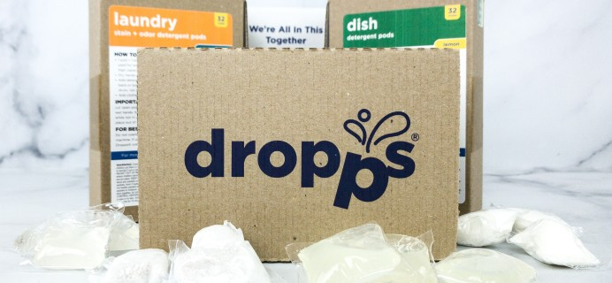 Dropps Review + Coupon – LAUNDRY & DISH