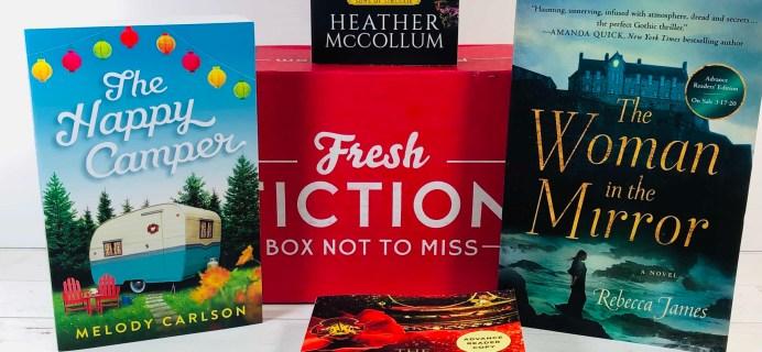 Fresh Fiction Box April 2020 Subscription Box Review + Coupon