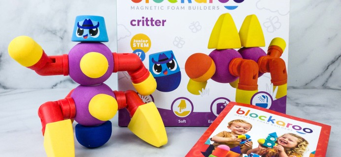 Amazon STEM Toy Club  Subscription Box Review – 3 to 4 Year Old BLOCKAROO