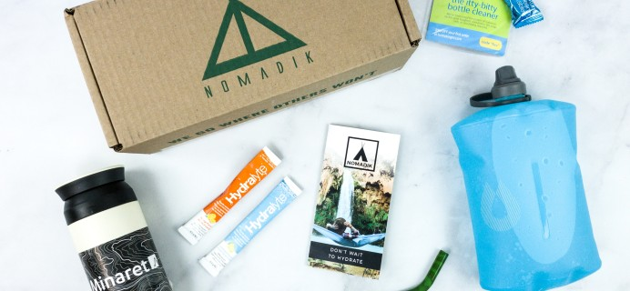 Nomadik March 2020 Subscription Box Review + Coupon
