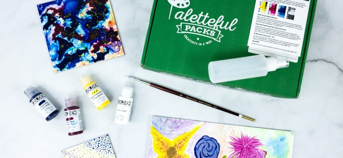 Paletteful Packs Review + Coupon – Golden Fluid Acrylic