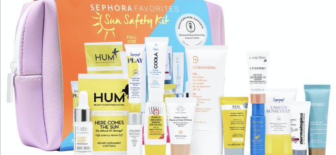 Sephora Sun Safety Kit 2020 Back In Stock!!!