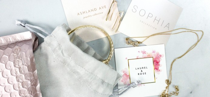 Glamour Jewelry Box March 2020 Subscription Box Review + Coupon