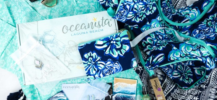 Oceanista Spring 2020 Subscription Box Review + Coupon