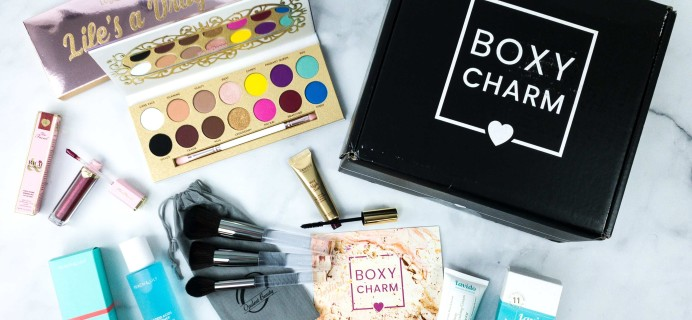 BOXYCHARM Premium April 2020 Review + Coupon