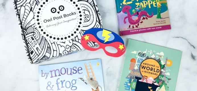 Owl Post Books Imagination Box April 2020 Subscription Box Review + Coupon
