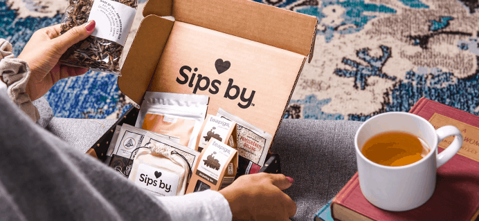 Sips by Tea Subscription Coupon: Get 50% Off!