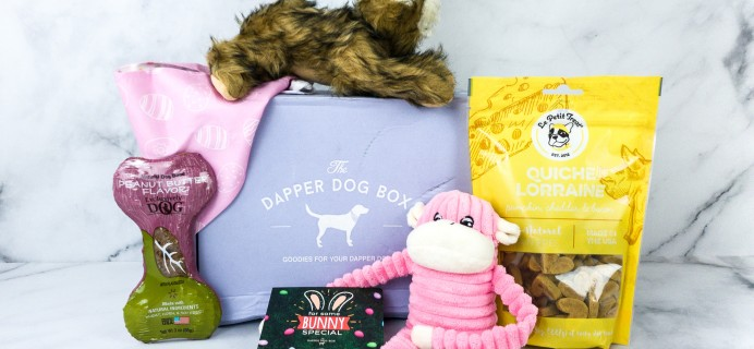 The Dapper Dog Box April 2020 Subscription Box Review + Coupon