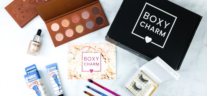 BOXYCHARM April 2020 Review + Coupon – Variation #2