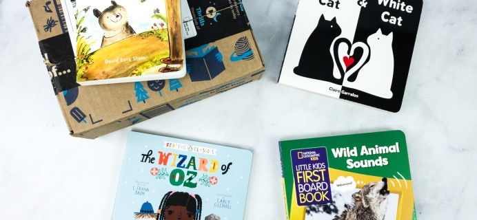 Amazon Book Box Kids April 2020 Review + Coupon – Baby to 2 Years