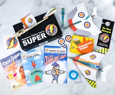 Superpower Academy April 2020 Subscription Box Review + Coupon!