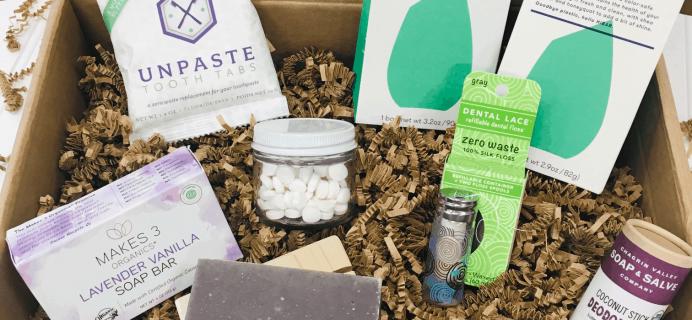 Mighty Nest Zero Waste Body Basics Gift Box + Coupon!