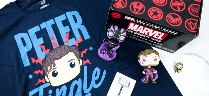 Marvel Collector Corps March 2020 Subscription Box Review – THE INFINITY SAGA!