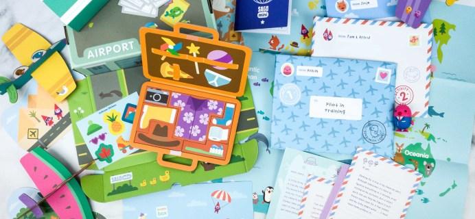 Sago Mini Box April 2020 Subscription Box Review + Coupon – PLANES!