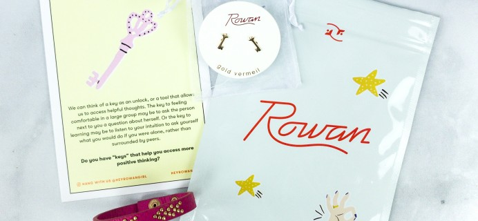Rowan Earring Club April 2020 Subscription Box Review