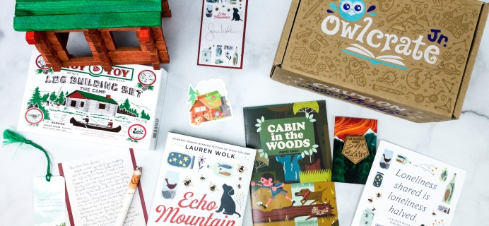 OwlCrate Jr. April 2020 Box Review & Coupon – CABIN IN THE WOODS