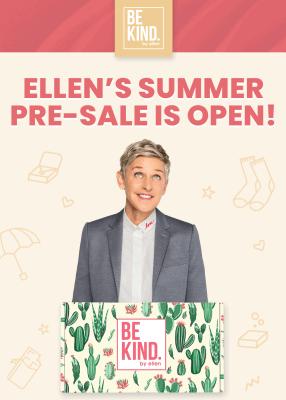 BE KIND by Ellen Box Summer 2020 Sales Open Now!