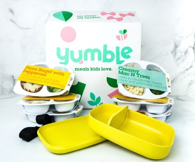 Yumble Kids Spring 2020 Subscription Box Review + Coupon!