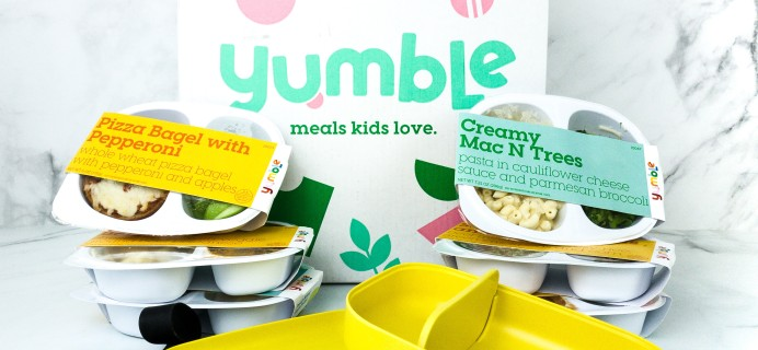 Yumble Kids Cyber Monday Deal: Save 50% On Your First Two Weeks!