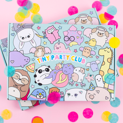 Tiny Party Club by Sugar & Sloth – Review? Pin & Stationery Subscription!