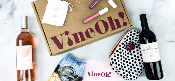 Vine Oh! Summer 2020 Subscription Box Review + Coupon – OH! HAPPY DAY! BOX