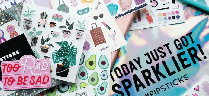 Pipsticks June 2020 Spoilers + Coupon!