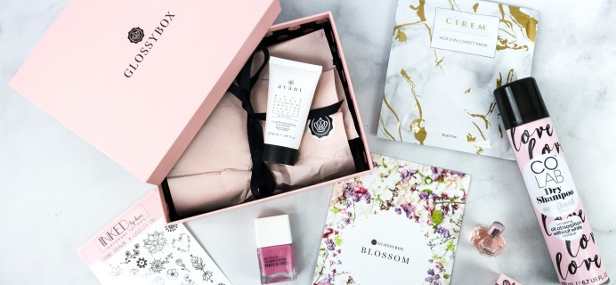 GLOSSYBOX April 2020 Subscription Box Review + Coupon