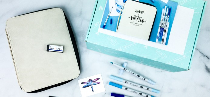 Tombow VIP Club Summer 2020 Box Review