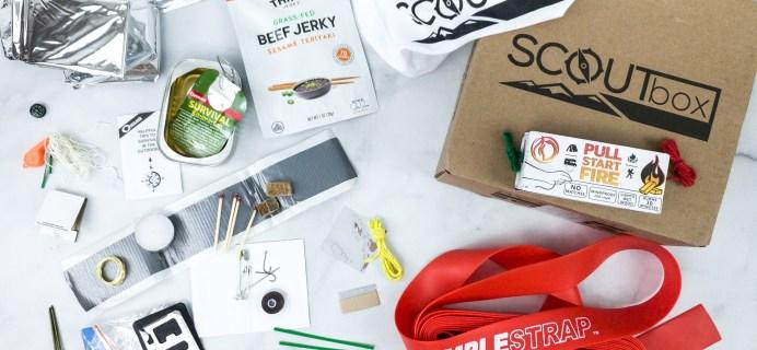 SCOUTbox April 2020 Subscription Box Review + Coupon