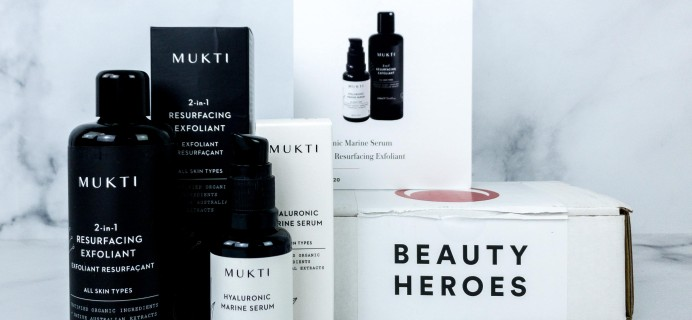 Beauty Heroes April 2020 Subscription Box Review