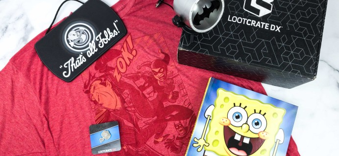 Loot Crate DX February 2020 Subscription Box Review & Coupon