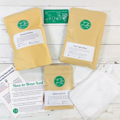 Free Your Tea April 2020 Subscription Box Review + Coupon