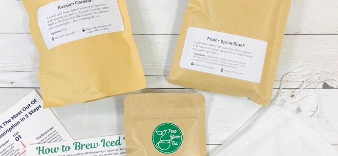 Free Your Tea April 2020 Subscription Box Review + Coupon