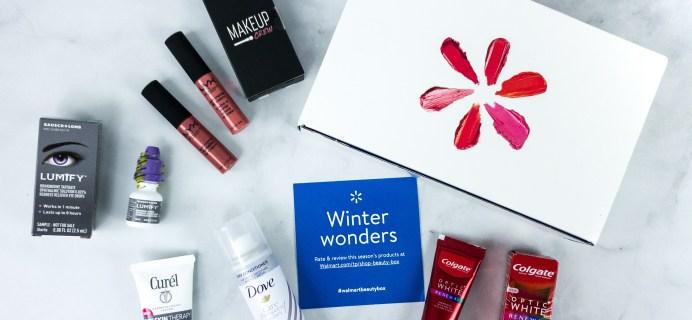 Walmart Beauty Box Winter 2019-2020 Review – CLASSIC Box