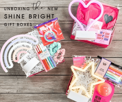 STRONG selfie Box Limited Edition Shine Bright Gift Boxes Available Now!