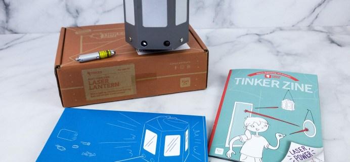 KiwiCo Tinker Crate Review & Coupon – LASER LANTERN