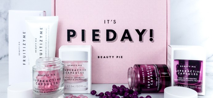 Beauty Pie Review – SuperActive Capsules + Fruitizyme Facial!