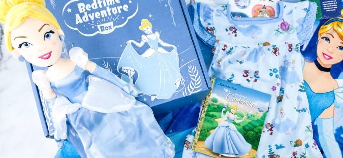 Disney Bedtime Adventure Subscription Box Review – March 2020 CINDERELLA