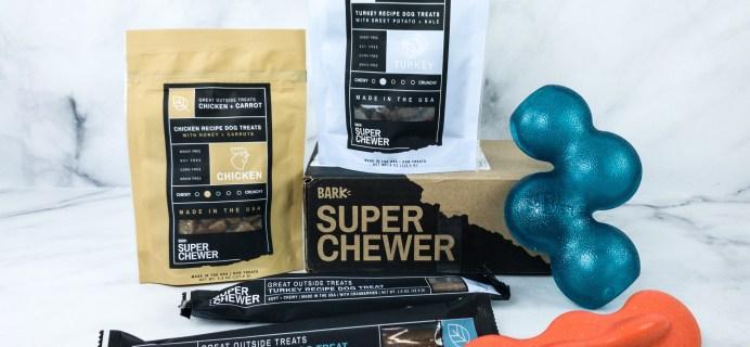Super Chewer April 2020 Subscription Box Review + Coupon!