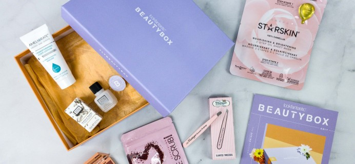 lookfantastic Beauty Box April 2020 Subscription Box Review