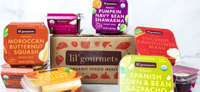 Lil' Gourmets Baby Food Subscription Box Review