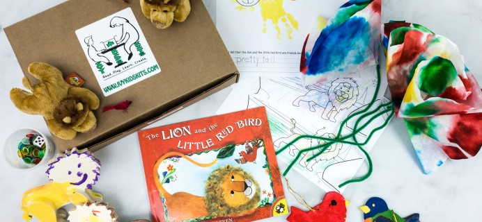 Ivy Kids Subscription Box Review + Coupon – The Lion & The Little Red Bird