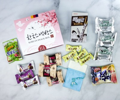 Korean Snack Box March 2020 Subscription Box Review + Coupon
