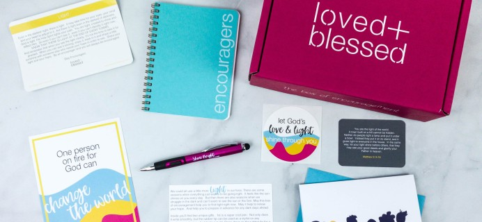 Loved+Blessed May 2020 Subscription Box Review + Coupon