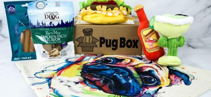 Pug Box April 2020 Subscription Box Review + Coupon
